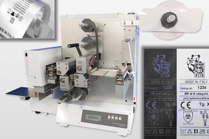 Servizio stampa bindelli per il settore tessile
